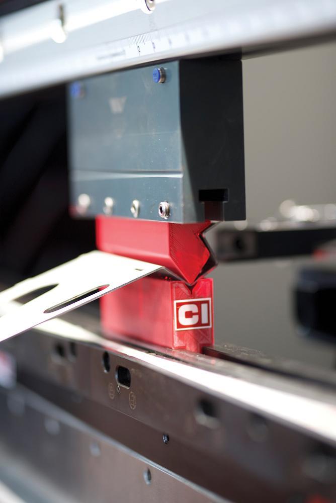 Additive tech takes on short-run press brake tooling