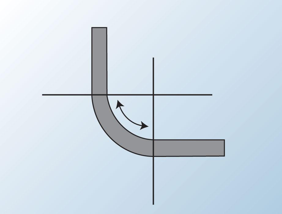 Better bump radius bending