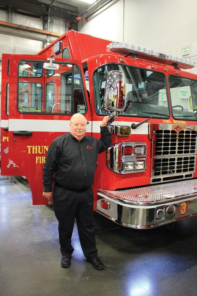 Fort Garry Fire Trucks are built for extremes