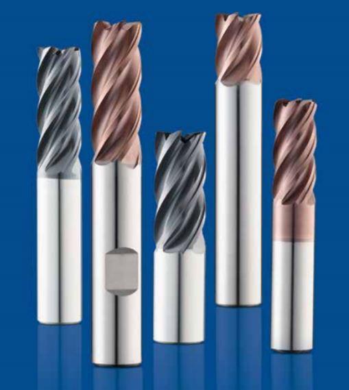 SGS 46861 Z1MPCR Z-Carb-AP High Performance End Mill 12 mm Cutting Length 83 mm Length 26 mm Shank Diameter 0.75 mm Corner Radius 12 mm Cutting Diameter Titanium Nitride-X Coating