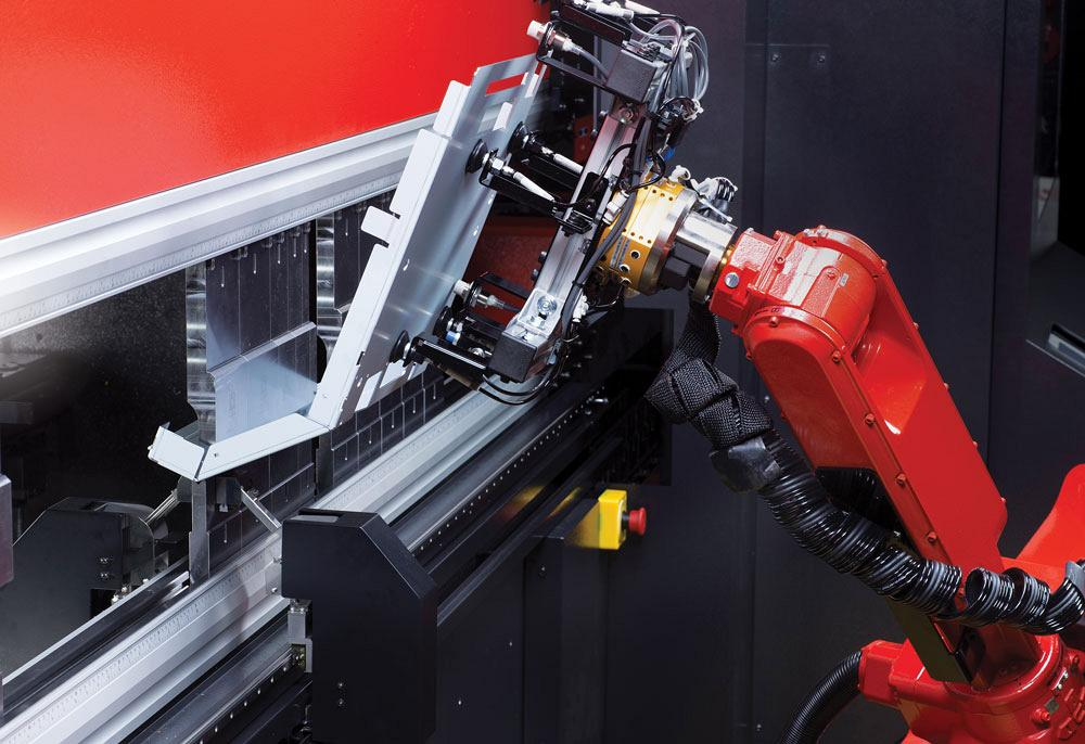 Press brakes get robot-ready