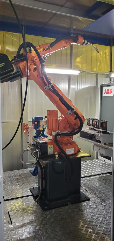 Robotic Weld Cell Gets The Job Done Right