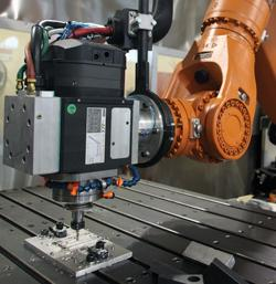 Robots Integrated With Mills: Good for Production and Job Shops