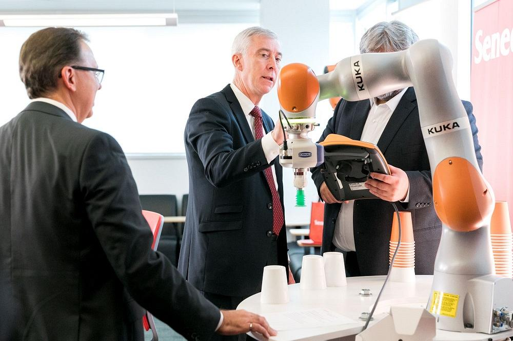 Seneca, KUKA partner to create robotics opportunities at