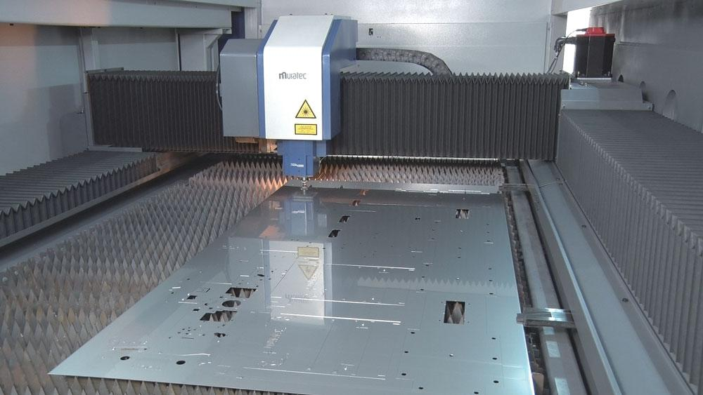 The added benefits of punch/laser combination machines