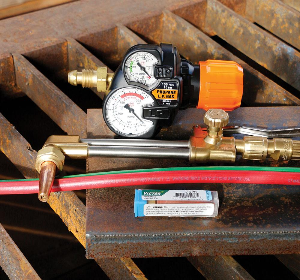 Using alternate fuel gases for cutting and heating