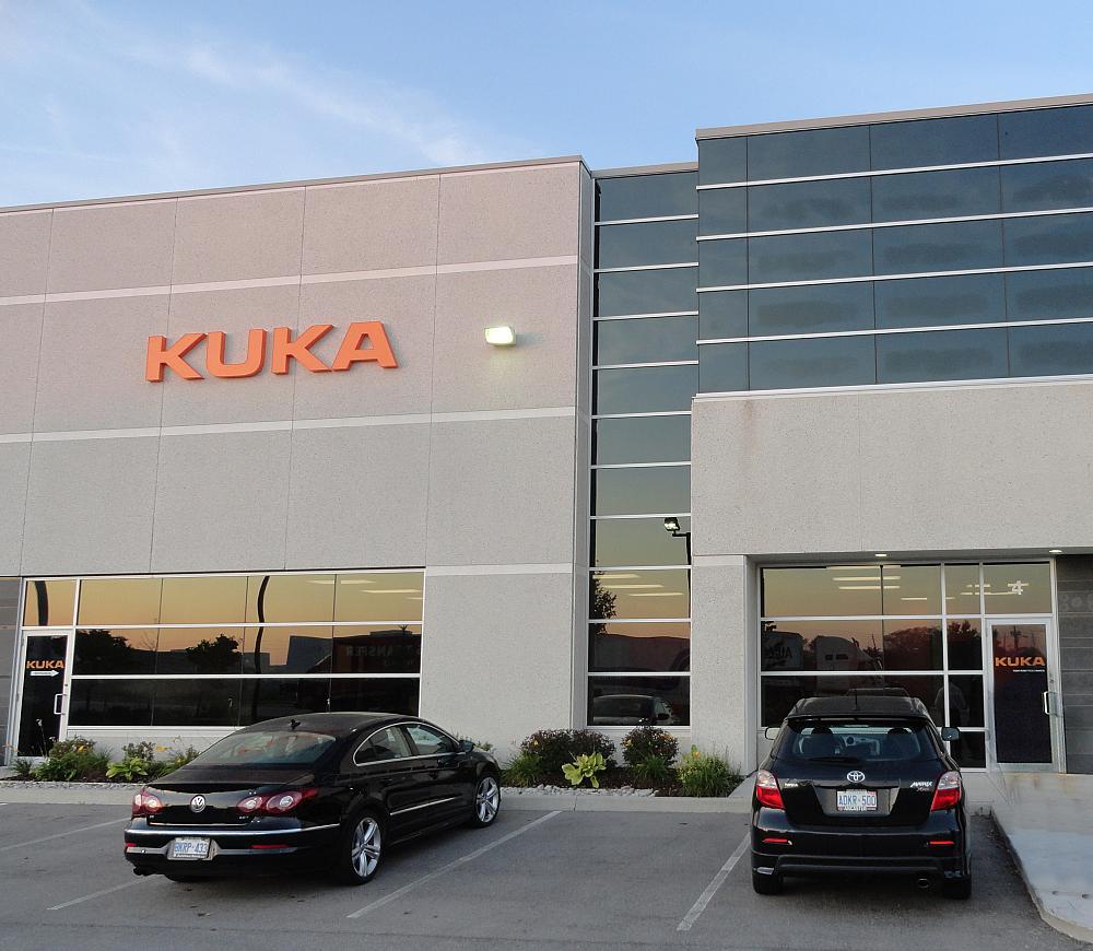 KUKA Robotics Canada opens new facility
