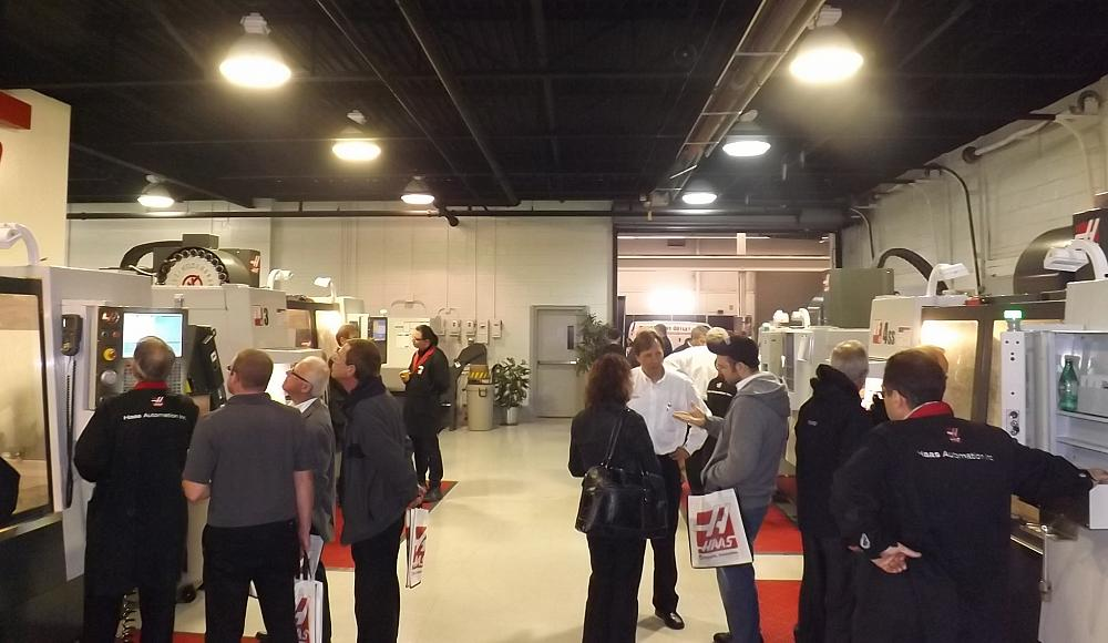 Haas Automation hosts its Demo Day in Toronto