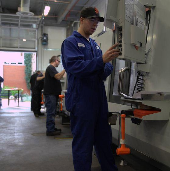 NAIT becomes largest CNC training centre in N A