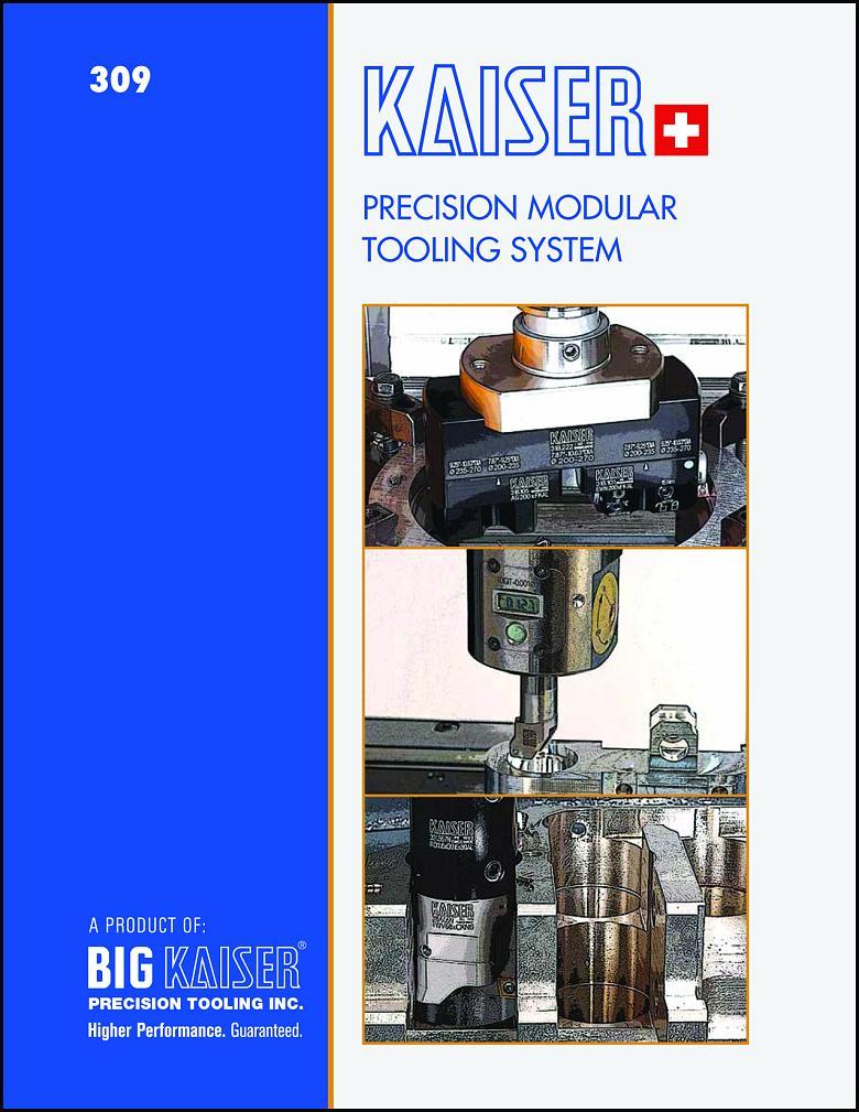 The new KAISER precision modular tooling systems catalog