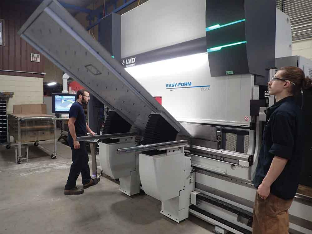 Pure Ingenuity adds to fabricating sophistication with 14-axis press brake